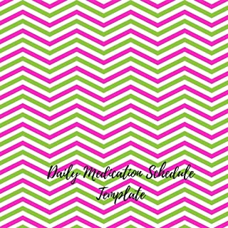 Daily Medication Schedule Template: Undated Personal Medication Checklist Organizer. Track Medicine, Dosage Frequency, Monday To Sunday For 53 weeks.  Journal Notebook With Space For Notes. (Fitness)