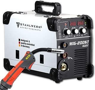 STAHLWERK MIG 200 ST IGBT - Equipo de soldadura de gas de