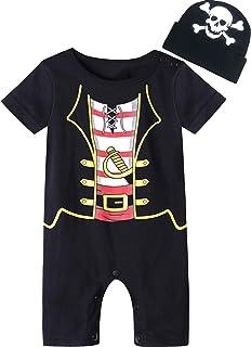 MOMBEBE COSLAND Baby Jungen Karneval Kostüm Strampler