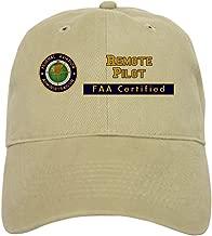 CafePress FAA Certified Remote Pilot Baseball Baseball Cap