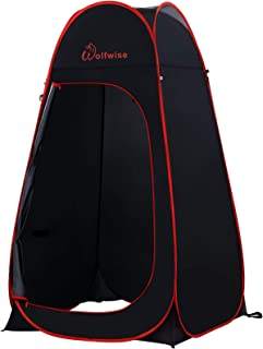 comprar comparacion WolfWise Tienda De Campaña Pop Up Tiendas instantáneas Carpas Vestidor Vestuario Espacioso para Camping Ciclismo Baño Duch...