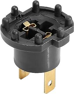 sourcing map Auto H7 Scheinwerfer Fassung Adapter Halter Kabelsatz Kabelloser Stecker
