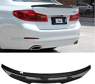 4pcs PVC Car Rear Bumper Diffuser Fin Spoiler Lip Universal Auto Accessory Rear Spoiler