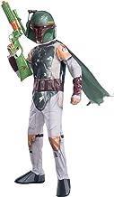 Rubie 's 61070, Disfraz oficial de Disney Star Wars para niños, Boba Fett, L (8-10 años)