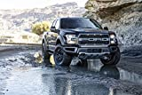 Classic and Muscle Car Ads and Car Art Ford F-150 Raptor (2017) Truck Print on 10 Mil Archival Satin Paper Black Front Side Static View 16'x20'