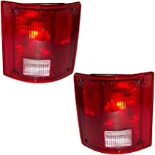BuyRVlights Holiday Rambler Ambassador 2000-2004 RV Motorhome Pair (Left & Right) Replacement Rear Tail Light Lamps