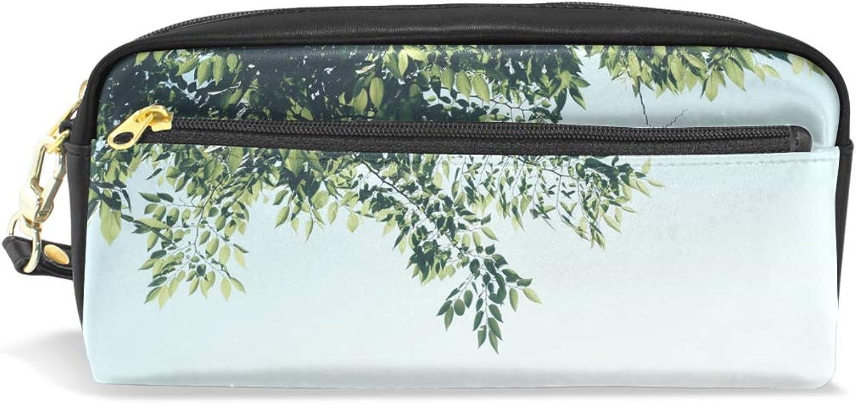 Federmäppchen mit großer Kapazität, Baum Baum Baum Blatt Stift, Schreibwaren, Tasche mit Reißverschluss B07Q5X3MSW | Beliebte Empfehlung  ffaed1