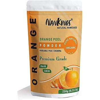 Nankings Orange Peel Powder Organic for Skin Whitening (Narangi) (250g)