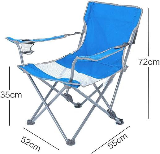 Chaise de Camping Chaise de Salon Pliante Maison de pêche en Plein air lumière - Chaise de Plage de Camping Chaise Pliante