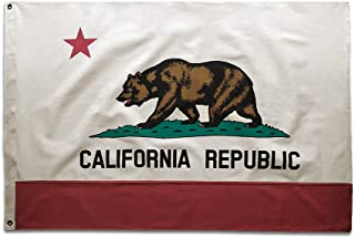 vintage california flag
