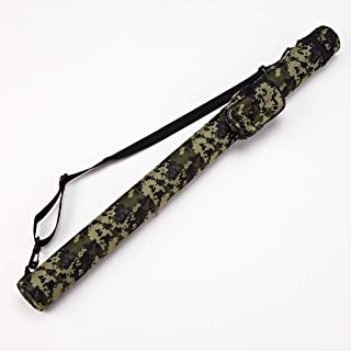 Collapsar 1x1 Hard Pool Cue Billiard Stick Camo Carrying Case -1B1S Camo Nylon Cases (Available in 5 Colors)