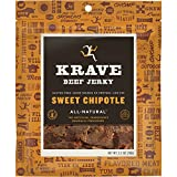 KRAVE Beef Jerky, Sweet Chipotle, 2.7 Ounce