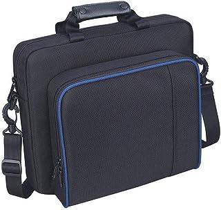 OurLeeme PlayStation 4 Bolsa de Casos, Travel PS4 Estuche Portátil PlayStation Ligero, Almacenamiento de Viaje, Bolso Prot...