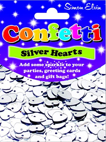 Confetti Sparkling Shaped Hearts,