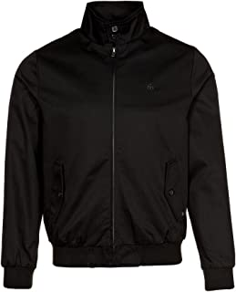 Mens black jackets A/W 2015 new harrington summer jacket