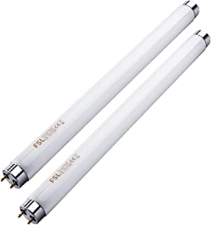 Kensizer 2-Pack 20 Watt UVA Light Bulbs T8 Fluorescent Light Tube Replacement for Electric Bug Zapper