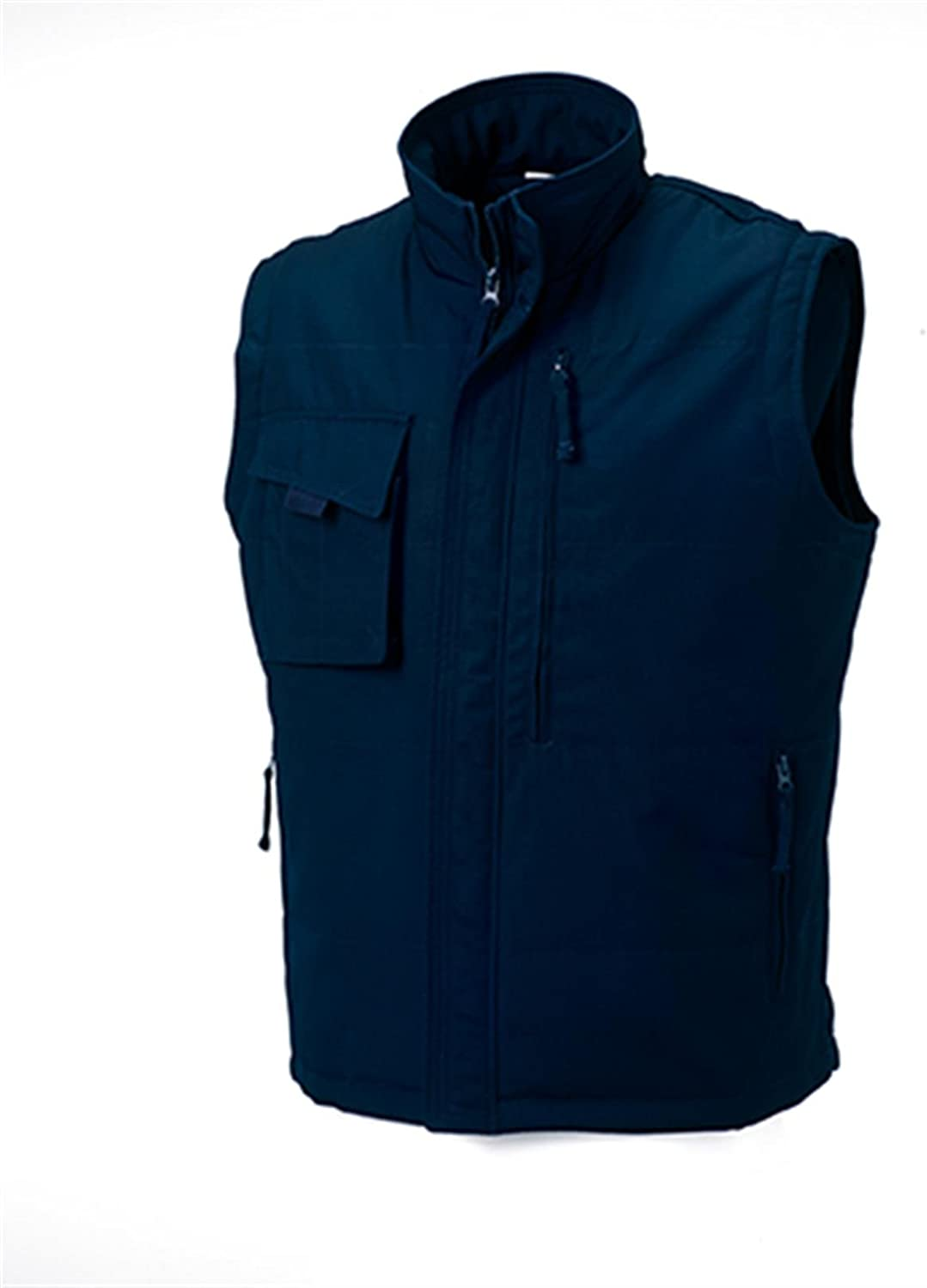 Russell Men's Workwear Padded Gilet French Navy