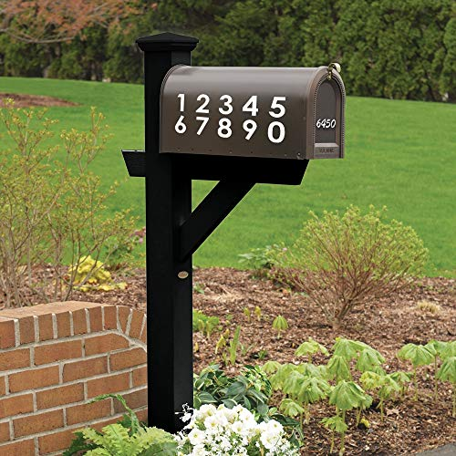 Postbus Nummers auto Sticker, Huisnummer Vinyl Auto Decal, Decor voor Raam, Bumper, Laptop, Muren, Computer, Thmbler, Mok, Beker, Telefoon, Vrachtwagen, Auto Accessoires