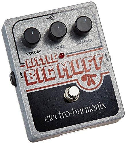 electro-harmonix Little Big Muff - Pedal de distorsión para guitarra, color plateado