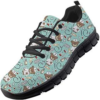 chaqlin Zapatillas de Deporte Zapatillas de Malla para Hombre Zapatillas de Deporte Fitness Gym Deportes Caminar Zapatilla...