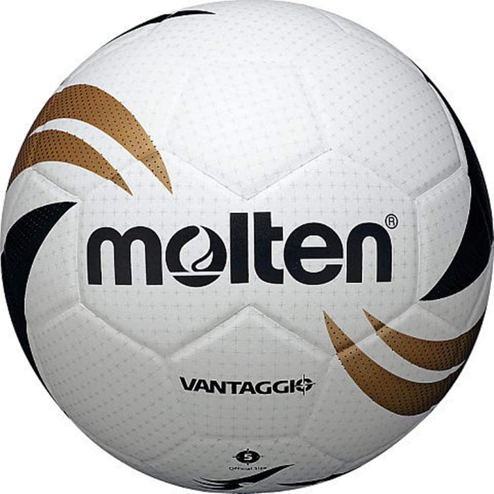 Molten Vantaggio Soccer Spring new work one after another Max 53% OFF Ball Size Black 5 Gold White