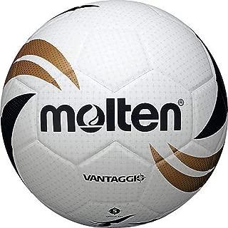 Molten Vantaggio Soccer Ball, Size 5, Black/Gold/White
