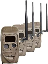 Cuddeback Flash CuddeLink 20MP Wireless Invisible IR Game Trail Camera (4 Pack)