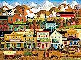 Buffalo Games - Charles Wysocki - Pete's Gambling Hall - 1000 Piece Jigsaw Puzzle