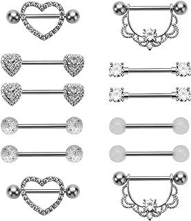 Best heart body jewelry Reviews