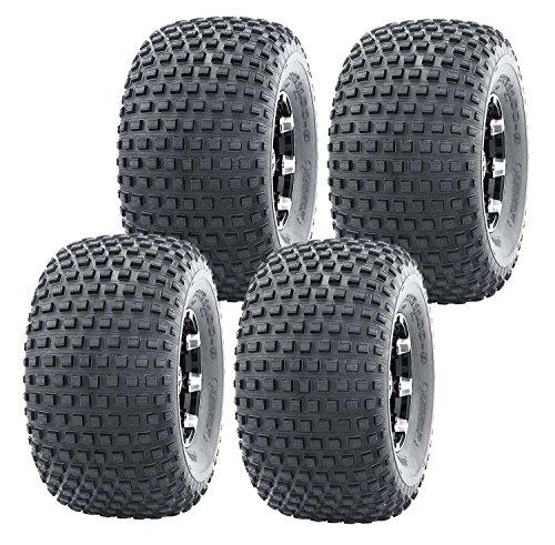 Set 4 WANDA Sport ATV Tires 22x11-8 22x11x8 4PR Knobby 10032