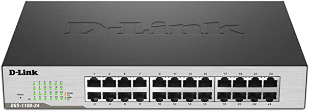 D-Link 24-Port EasySmart Gigabit Ethernet Switch (DGS-1100-24)