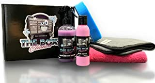 THE BOX CLEANERS Complete Toolbox Cleaning Kit | Waterless Wash, Step Polish, Polishing Pad, Microfiber Towels | Home Esse...