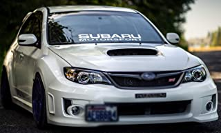 Gy Vinyl Arts,Windshield,Decal,Car,Sticker,Banner,Graphics,for Subaru Motorsport,Impreza,BRZ,WRX,Sti (3.4
