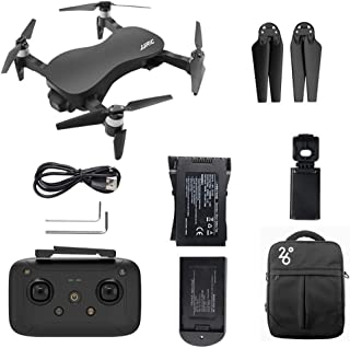 JJRC X12 GPS 5G WiFi FPV 9KM 3-Axis Gimbal Drone with 4K HD Camera, Brushless Motor Foldable RC Quadcopter X PRO, 25 min