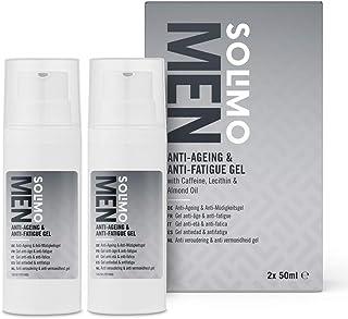 Marchio Amazon - Solimo Gel anti-età & anti-fatica, confezione da 2 x 50ml