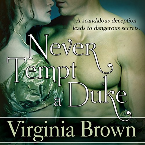 Never Tempt a Duke audiobook cover art