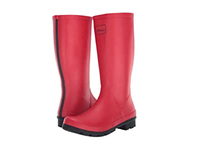 Joules Roll Up Welly (Red) Women