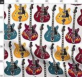 Rockabilly, Musik, Gitarre, Countrymusik Stoffe -