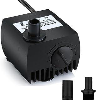 Maxesla Mini Bomba de Agua Ultra Silencioso 300L/H Bomba