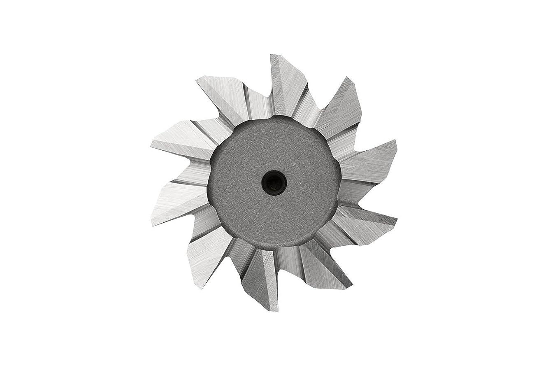 Dormer C83025.0X60 Cobalt High Speed Steel Shank Dovetail Cutter, Bright Coating, Cobalt High Speed Steel, 10 mm Plug Chamfer, 25 mm Head Diameter, 67 mm Full Length, 32