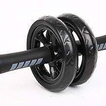Dubbelwiel Mute Rebound Abdominale Fitnessapparatuur Giant Wheel Abdominale Roller Verminderen Abdominale Buikwiel