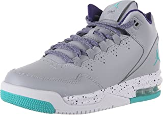 Girls Jordan Flight Origin 2 GG Grey/Purple/White/Retro 718075-008