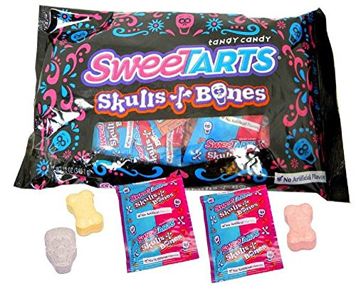 Nestle SweeTARTS Skulls and Bones (24 count/pack)