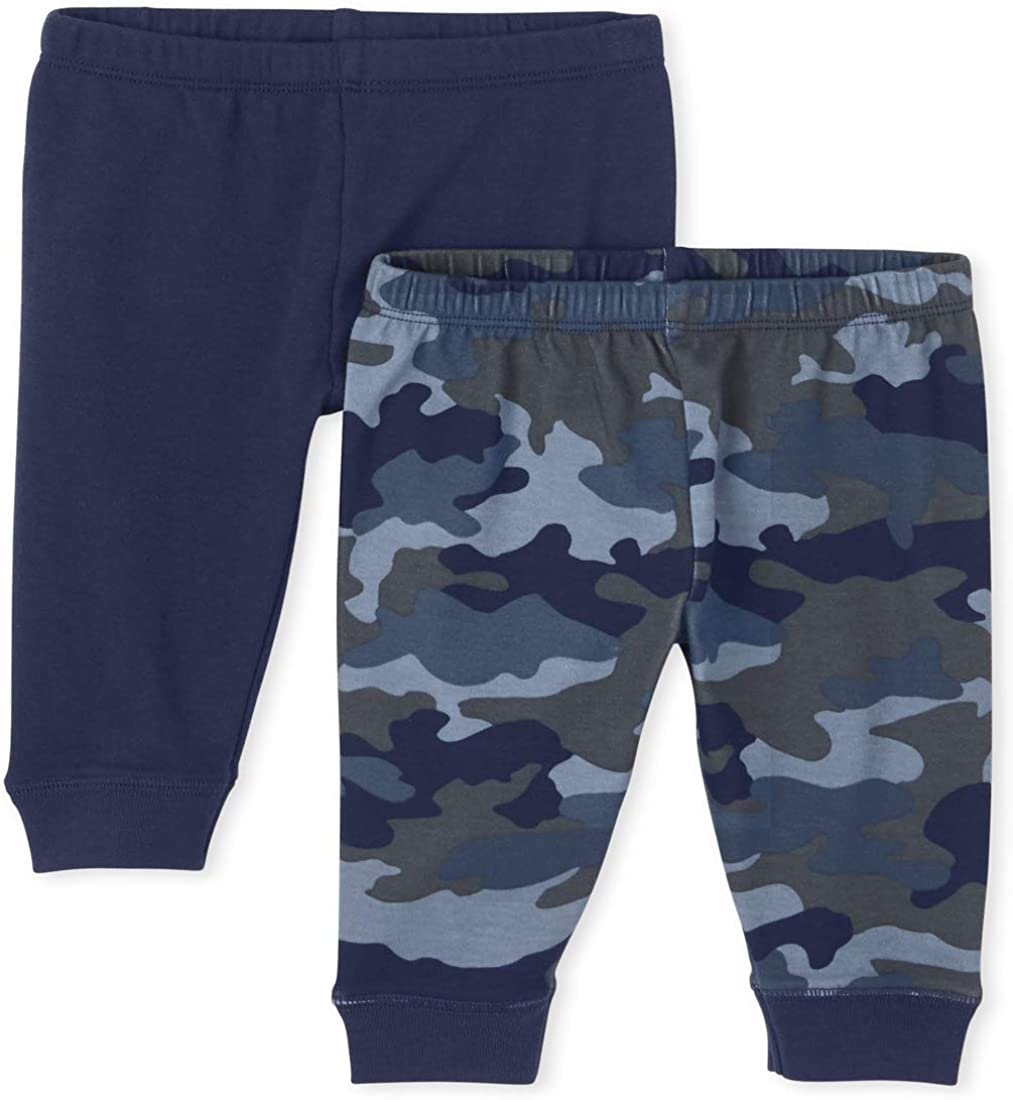 The Children's Place Baby Boys' Leggings, Pack of Two