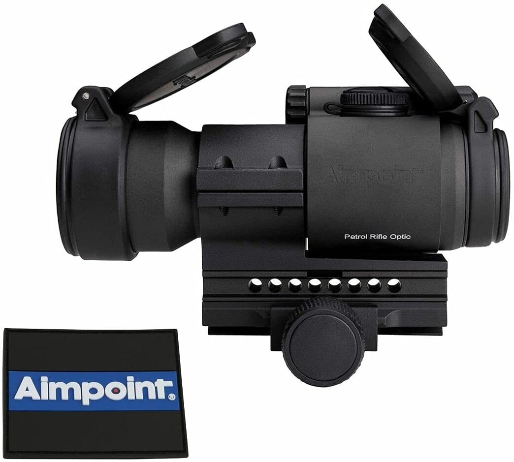 Aimpoint PRO Red Dot Reflex Sight 2 Blue Bombing free shipping Max 60% OFF Thin Li Mount with MOA