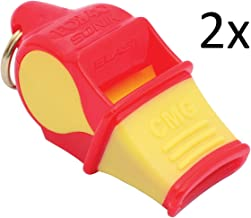 Fox 20 Sonik Blast Whistle (2 Pack) (Red/Yellow)
