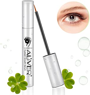 Eyelash Growth Serum, Natural Eyebrow Enhancer, Brow & Lash Enhancing Formula for Longer, Thicker Eyelashes and Eyebrows 5ML