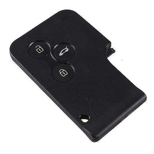Remote Key Case Fob 3 Botones para Renault Clio Megane Scenic Gran reemplazo dominante escénico caso