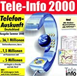 Tele- Info 2000. Sommer 2000. CD- ROM für Windows ab 95 -