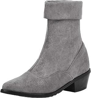 RAZAMAZA Women Fashion Block Heels Ankle Boots Slouch Boots